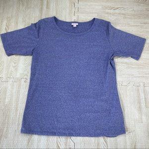 LLR Purple Short Sleeve T Shirt Top XL